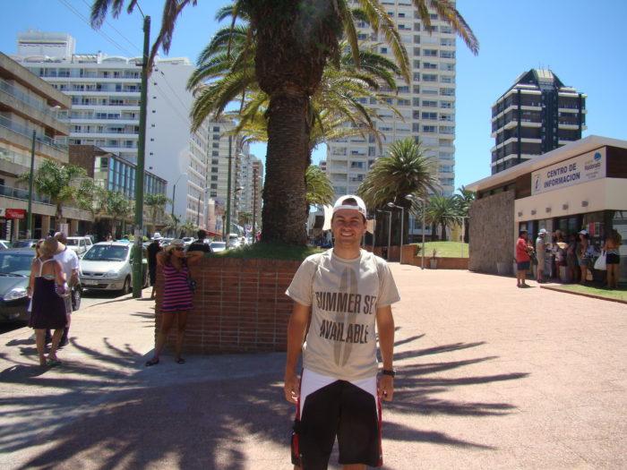 Avenida Gorlero em Punta del Este, Uruguai