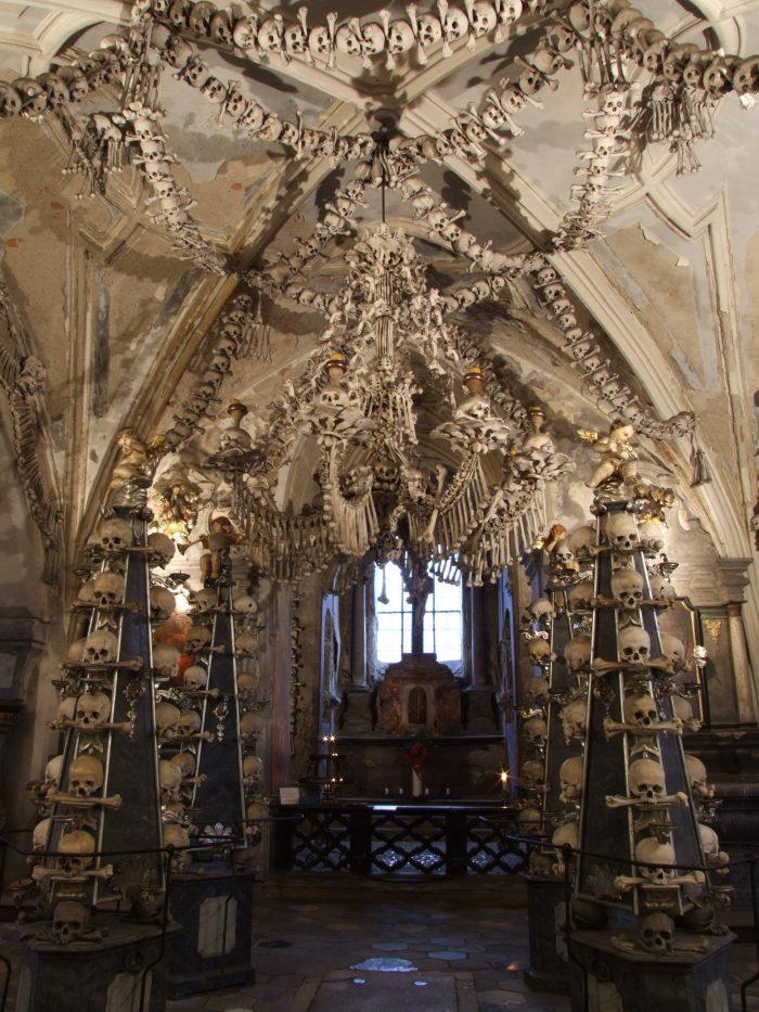 Igreja de ossos em Kutna Hora