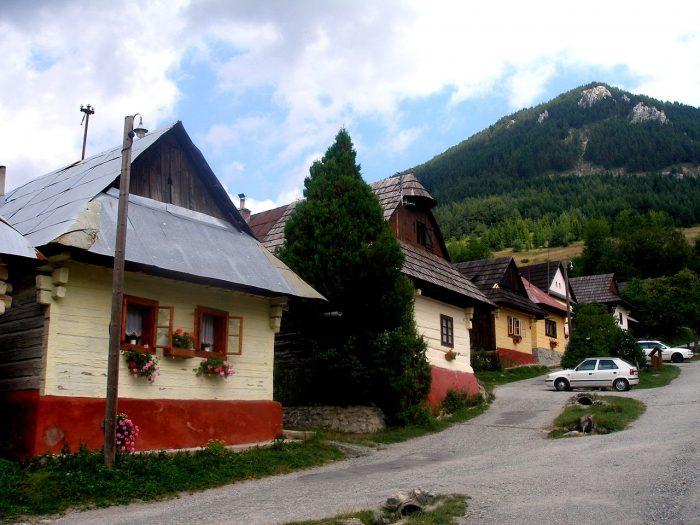 Cabanas nas montanhas da Eslováquia