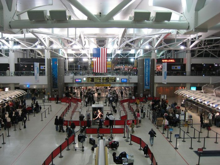 Aeroporto na cidade de Nova York