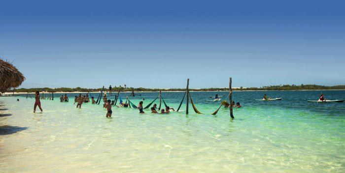 Praia em Jericoacoara - CE