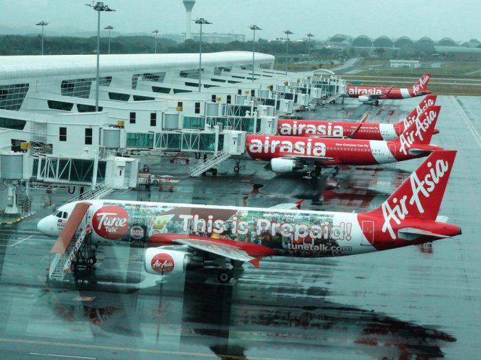 Aviões da Air Asia