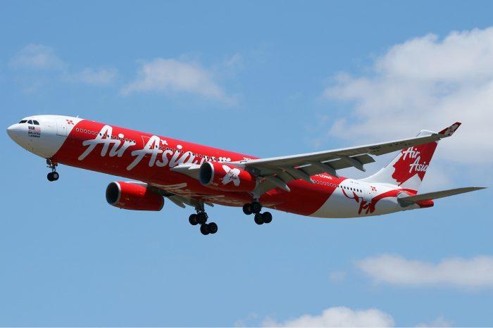 Avião da Air Asia