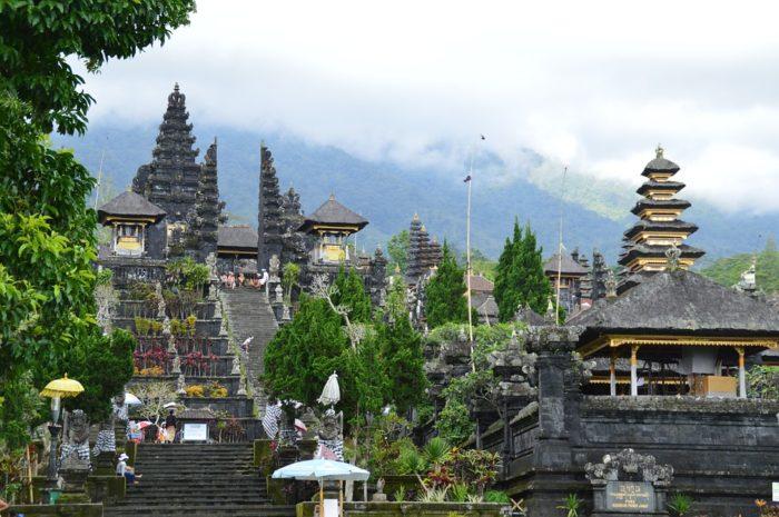 Templo Besakih em Bali, Indonésia