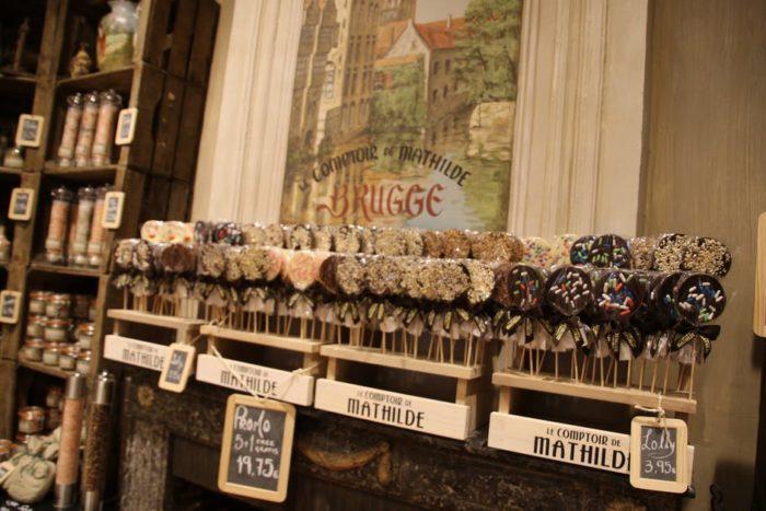 Na Bélgica estão os melhores chocolates do mundo