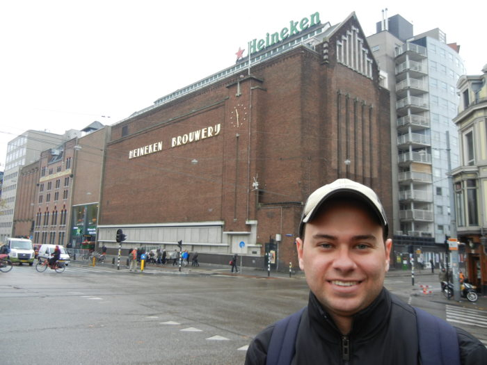A Heineken Experience em Amsterdã