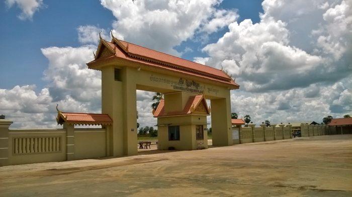 Camboja, próximo a fronteira com o Vietnã