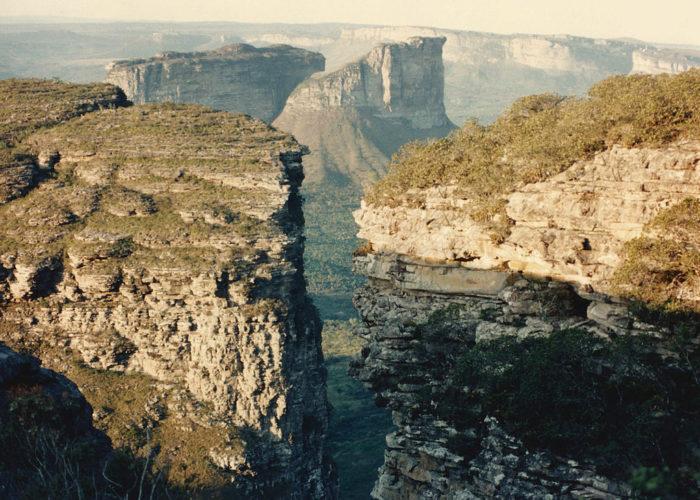 Formações rochosas da Chapada Diamantina, Bahia