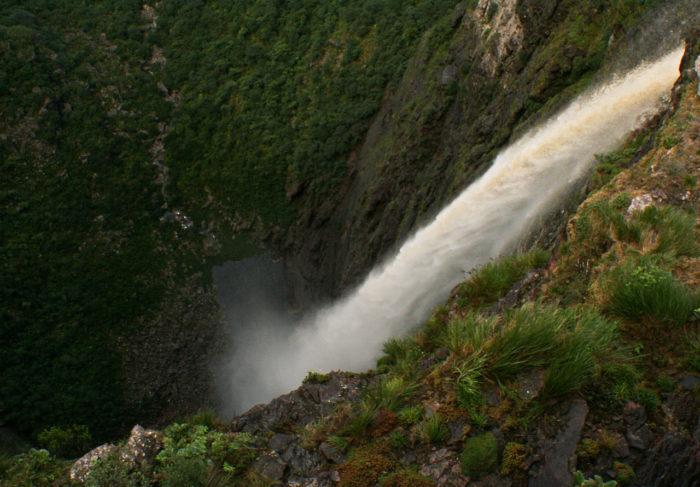 A Cachoeira da Fumaça na Chapada Diamantina, Bahia