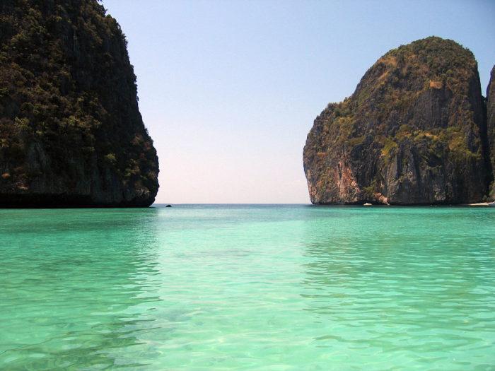 A espetacular Maya Bay, na Tailândia