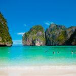 MAYA BAY na Tailândia: A PRAIA!