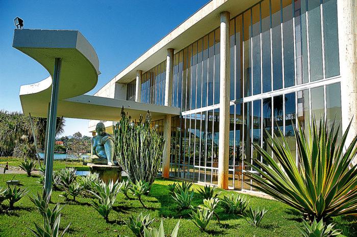 O Museu de Arte da Pampulha em Belo Horizonte