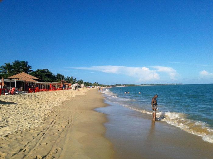 As populares praias de Porto Seguro, Bahia