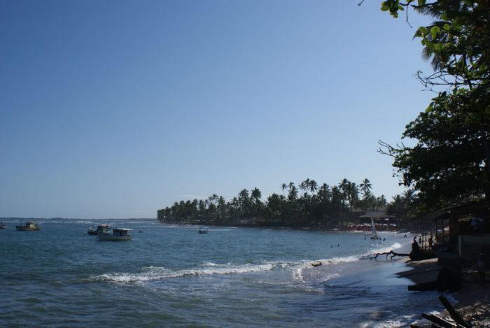 A Praia do Forte, na Bahia