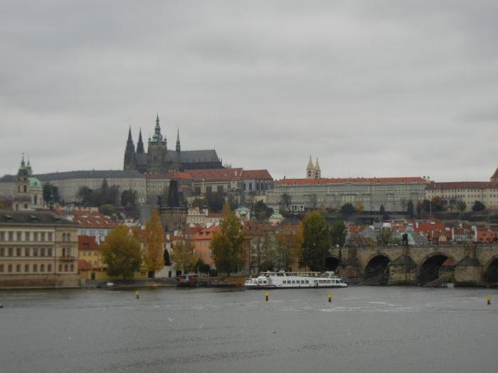 Vista do Castelo de Praga, República Tcheca