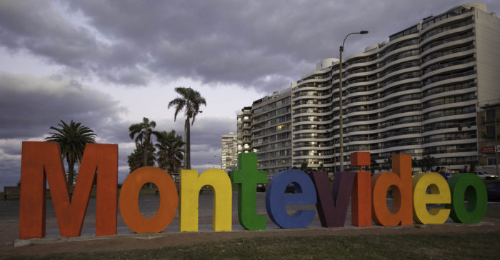 Montevidéu, a capital do Uruguai