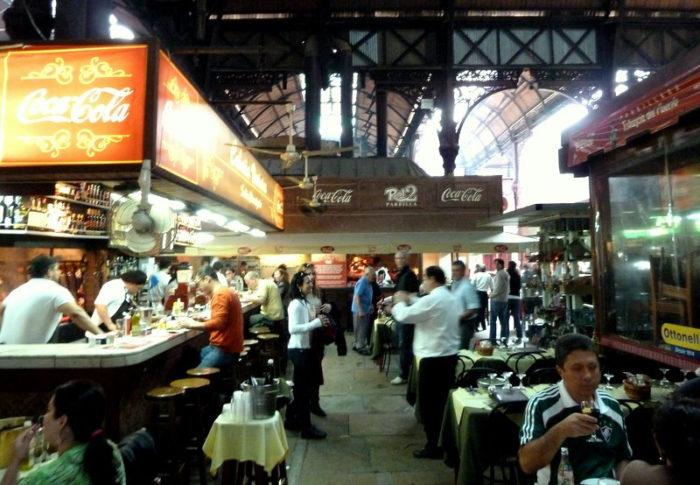 O Mercado do Porto de Montevidéu