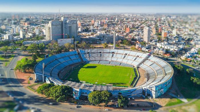 O Estádio Centenário de Montevidéu