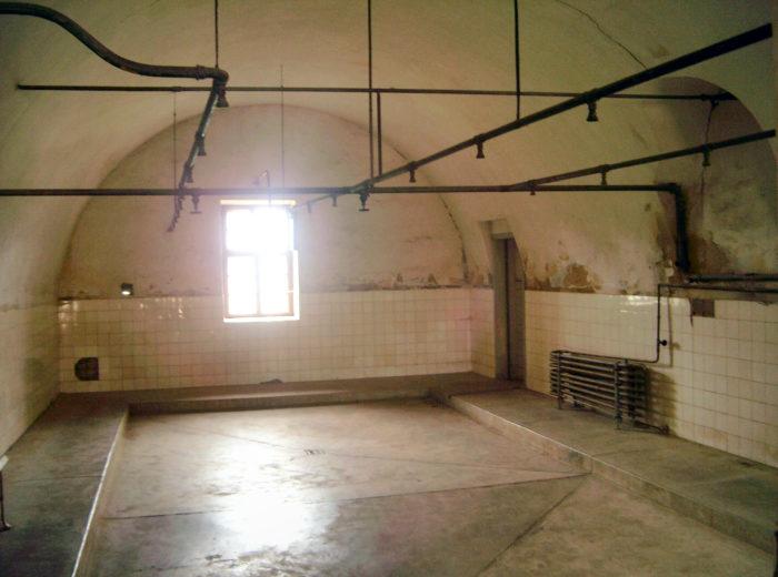 as instalações do Campo de Concentração de Terezin, na república Tcheca