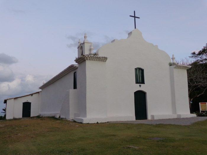 Igreja de Trancoso, na Bahia