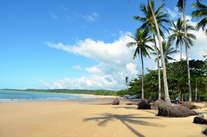 As belas praias de Trancoso, na Bahia