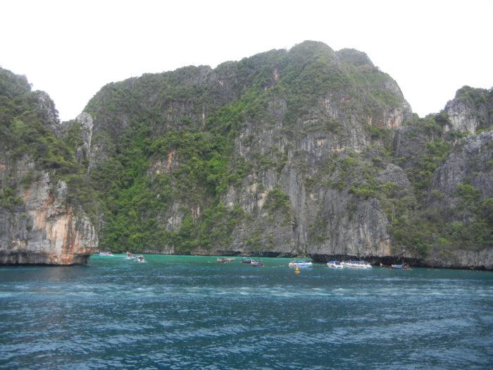 As Ilhas Ko Phi Phi na Tailândia