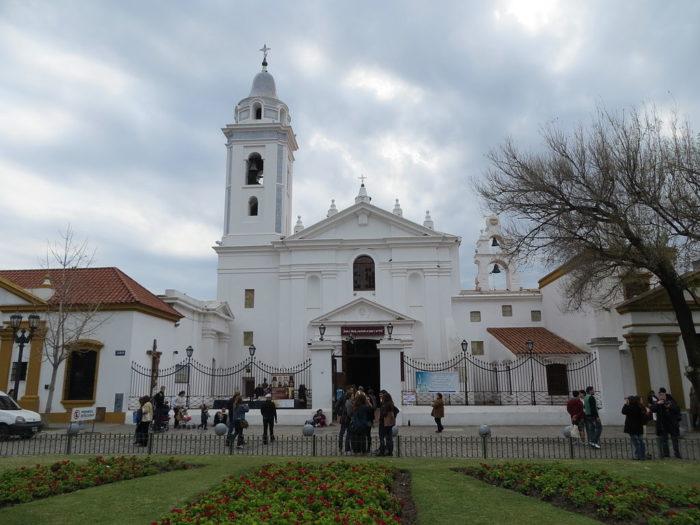 A Igreja del Pilar em Buenos Aires, Argentina