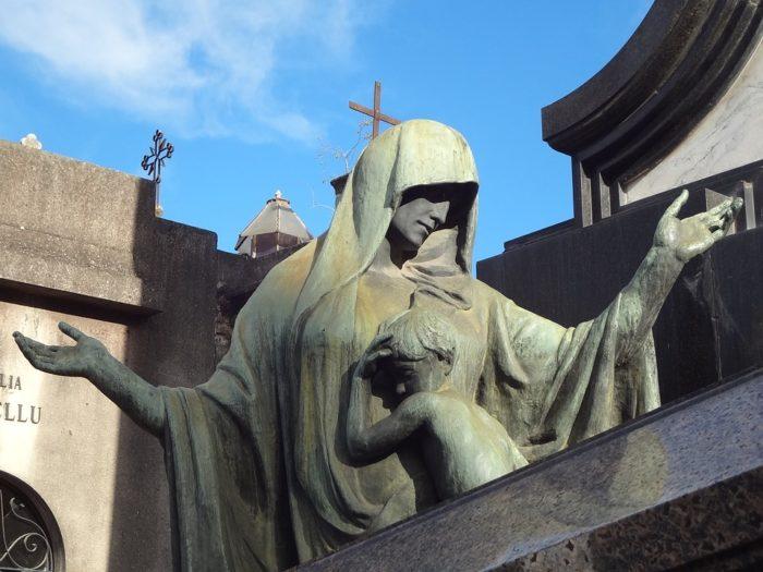 O Cemitério da Recoleta em Buenos Aires