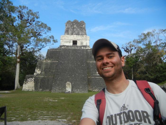 O Templo 2 em Tikal, na Guatemala
