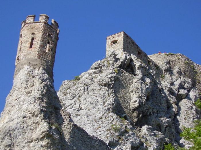 O Castelo Devin, na Eslováquia