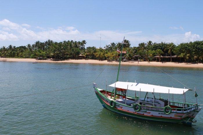 Praia em Barra Grande, Maraú, Bahia