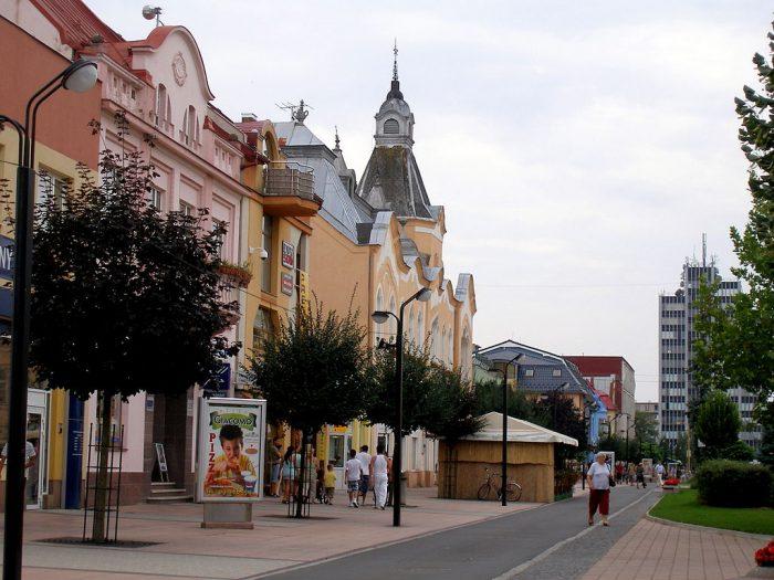 Belas casas na Eslováquia