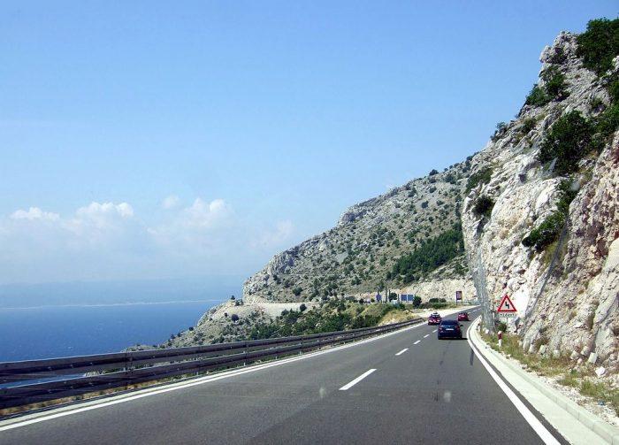 Bela Estrada na Croácia