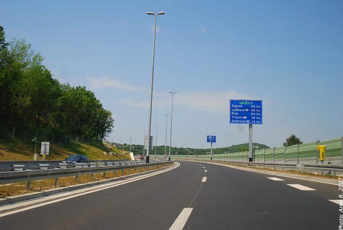 Boa Estrada na Croácia
