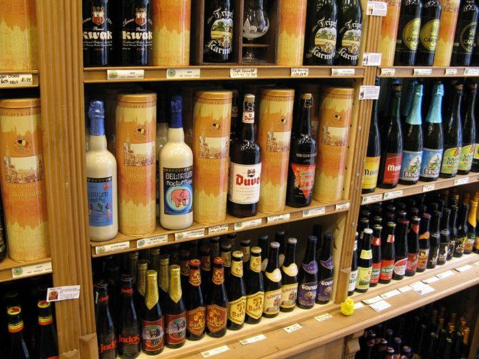 Grande variedade de cervejas na Bélgica