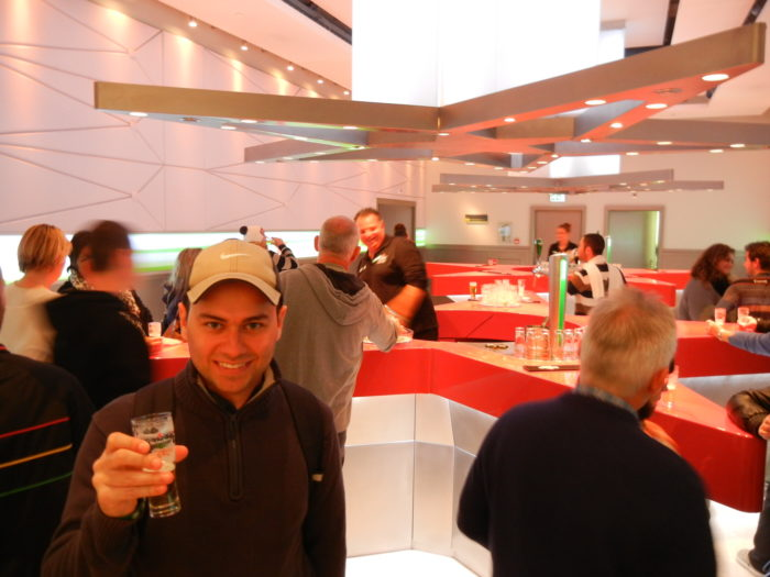A Heineken Experience em Amsterdã, Holanda