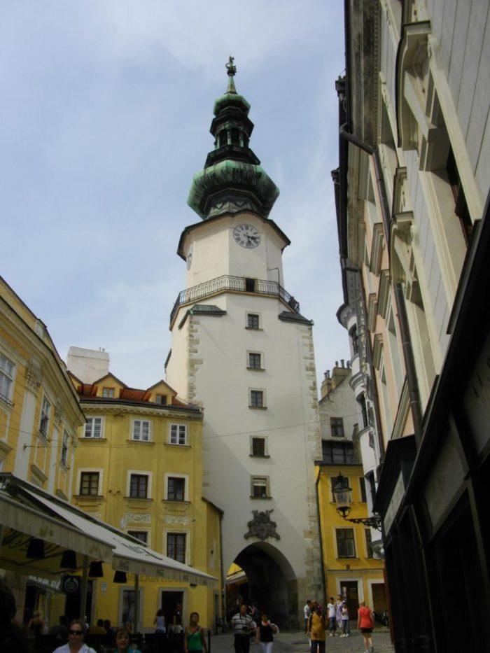 O Michalská Brána em Bratislava, Eslováquia