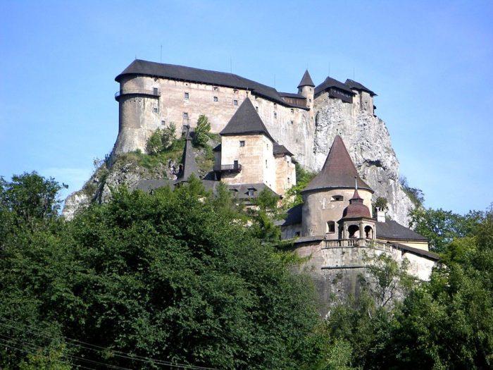 O Castelo de Orava, na Eslováquia