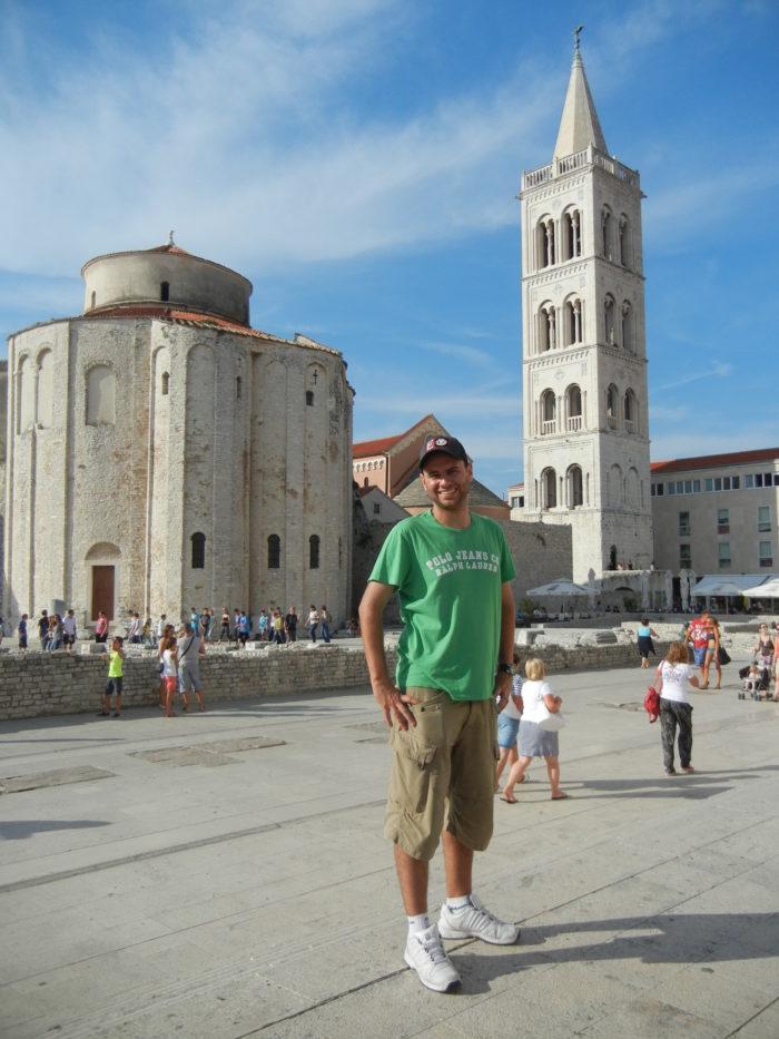 Centro Histórico de Zadar, na Croácia